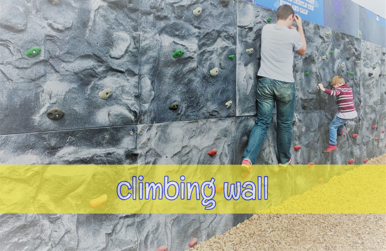 Hall Hill Timer Traverse Wall in action